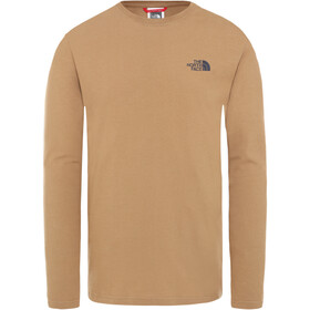 The North Face Rogue Graphic LS Tee Men, utility brown